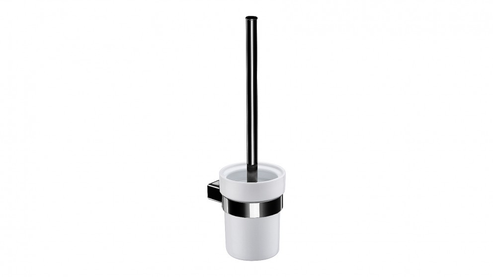 Arcisan Zara Matte Black Toilet Brush and Ceramic Holder