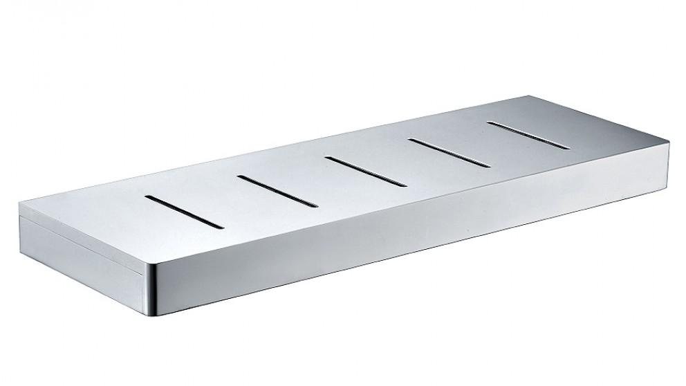 Arcisan Zara Chrome Shelf with Drain Holes