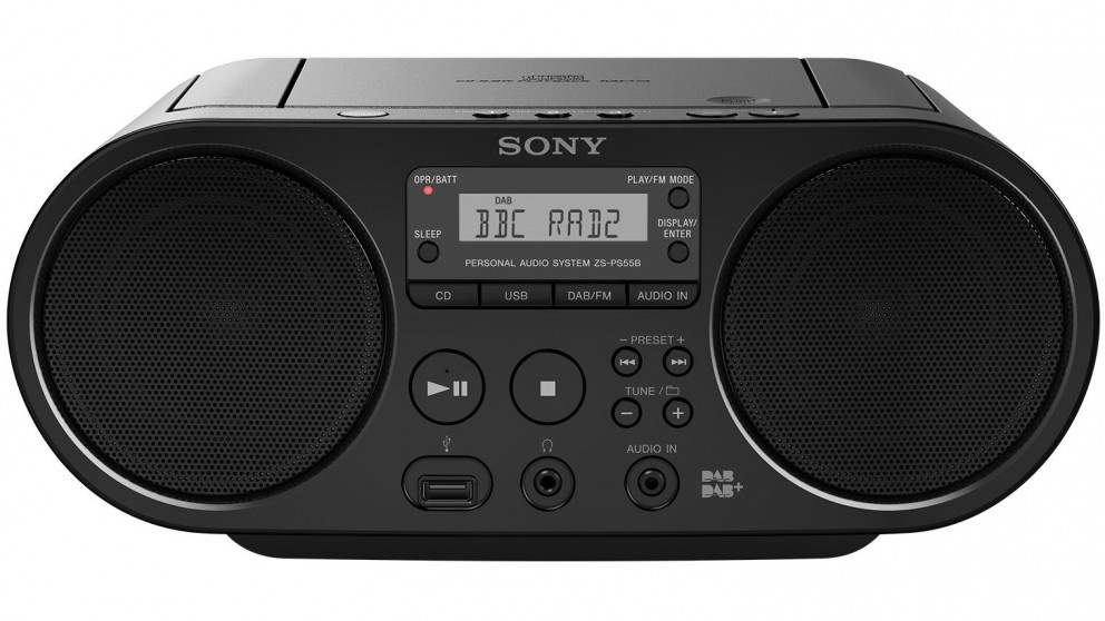 Sony CD Boombox Portable DAB+/FM Radio