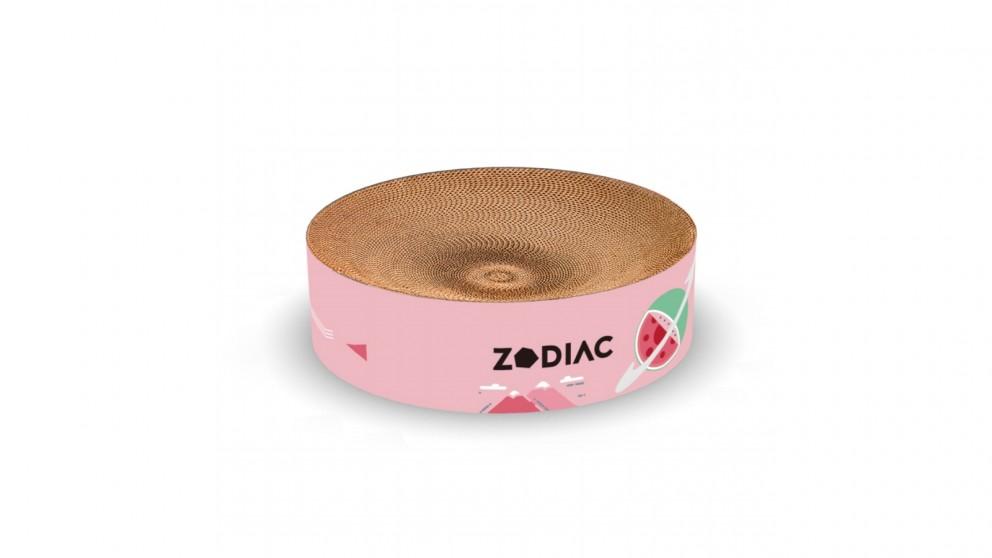 Zodiac Round Cat Scratcher - Watermelon