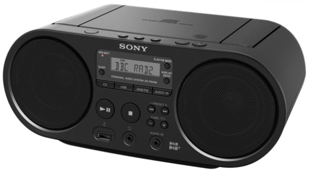 Buy sony cd boombox portable dab fm radio harvey norman au - Porta cd auto simpatici ...