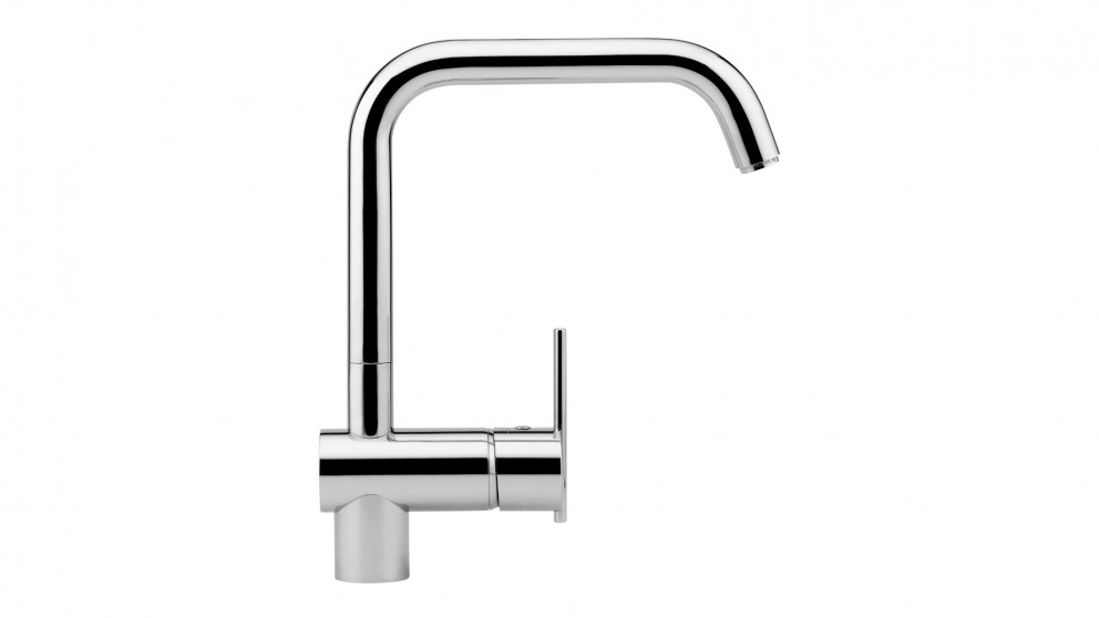 Zucchetti Spin Hi-Square Spout Sink Mixer - Chrome