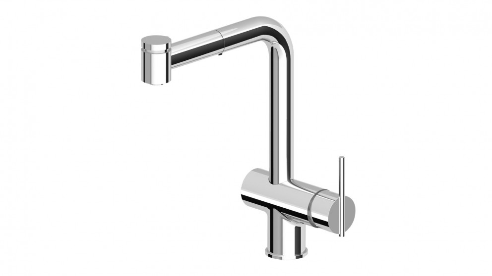 Zucchetti ZXS Pull Out with 2 Jet Handspray Sink Mixer