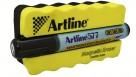 Artline 577 Whiteboard Magnetic Eraser and Marker Kit - Black