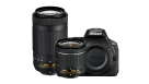 Nikon D5600 DSLR Camera with 18-55mm and 70-300mm Lens Kit