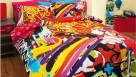 Urban Art Quilt Cover Set