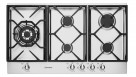 Westinghouse WHG956SA 90cm 5 Burner Gas Cooktop - Stainless Steel