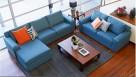 Buy Bourbon Fabric Modular Corner Recliner Lounge Suite