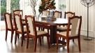 Carol/Vada 9 Piece Double Extension Dining Setting