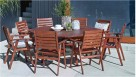 Hunter 9 Piece Octagonal Dining Setting