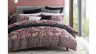 Vance Burgundy Quilt Cover Set