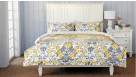 Fiorella Yellow Quilt Cover Set