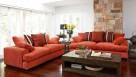 Newport 3 Seater Fabric Sofa