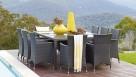 Newport 11-Piece Outdoor Rectangular Dining Setting