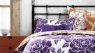 Peony Grape Standard Pillowcase