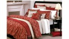 Medici Red Standard Pillowcase