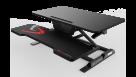 Eureka 31-inch Height Adjustable Gaming Sit Stand Up Desk Converter - Black