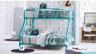 Trio Safety Bunk Bed - Teal
