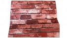 Serrano Red Brick Print Theme Wallpaper - 10m