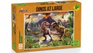 Funbox Puzzle Dinos at Large Puzzle 100 Pieces