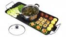 SOGA Electric Steambot Hotpot Soup Maker Fondue Teppanyaki Hotpot Grill