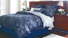 Stratton Lapis Tailored Pillow Cases Pair