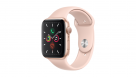 Apple Watch Series 5 44mm Gold Aluminum Case with Pink Sand Sport Band - GPS