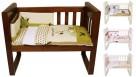 Babyhood Amani Bebe 3 Piece Cradle Set