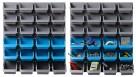 Giantz 48 Bin Wall Mounted Storage Rack