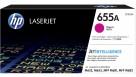 HP 655A LaserJet Toner Cartridge - Magenta