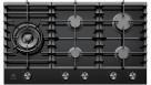 Electrolux 90cm Ceramic Gas Cooktop - Black
