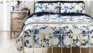 Fleur Blue Quilt Cover Set