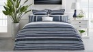 Pierre Navy Quilt Cover Set