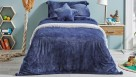 Teddy Navy Quilt Cover Set