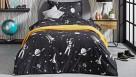 Astronaut Glow In The Dark Quilt Cover Set
