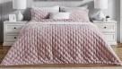 L'Avenue Arlington Velvet Pink Coverlet Set