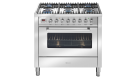 ILVE 90cm Freestanding Gas Oven - Stainless Steel