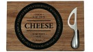 Fromage Wood Board with Knife