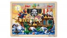 Melissa and Doug Pirate Adventure 48 Piece Jigsaw Puzzle