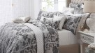 Montrose Silver Queen Quilt Cover Set