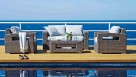 Hampton 4 Piece Outdoor Lounge Setting