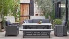 Tonic 5 Piece Outdoor Rectangular Lounge/Dining Setting
