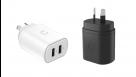 Cygnett PowerPlus 12W Dual USB-A Wall Charger