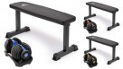PowerTrain 1x 24kg Dumbbell with 10437 Bench