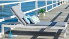 Quay Sunlounge with Cushion