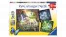 Ravensburger 3x49 Piece Beautiful Unicorns Jigsaw Puzzle