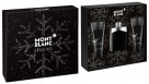 Legend M Blanc by Montblanc for Men (100ml) EDT - 3 Piece Set