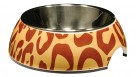 Catit 2-in-1 Extra Small Durable Cat Bowl - Animal Print
