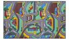 Plum 200cm x 95cm Street Carpet Play Mat