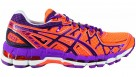 Asics Women's Orange/Orchid Gel Kayano NYCM Running Shoes